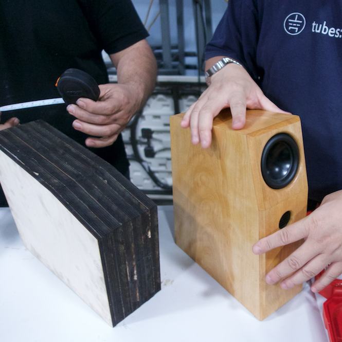 bliss speakers in production